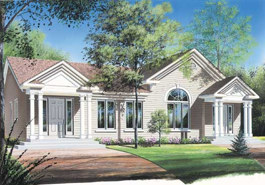Traditional Style House Plans 5-108