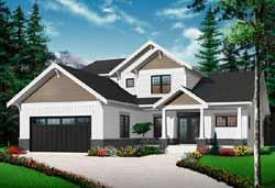 Craftsman Style House Plans Plan: 5-1080