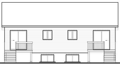 Rear Elevation Plan: 5-109