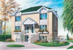 Contemporary Style Floor Plans Plan: 5-110
