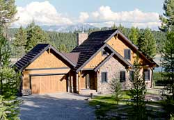 Mountain-or-Rustic Style House Plans Plan: 5-1100