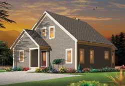 Shingle Style Floor Plans Plan: 5-1110