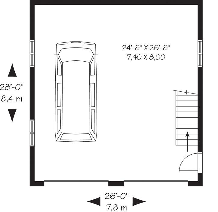 Main Floor Plan: 5-1112