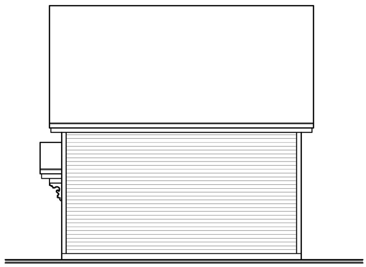 Rear Elevation Plan: 5-1112