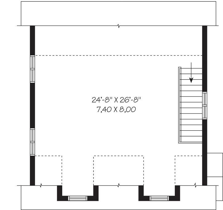Upper/Second Floor Plan:5-1112