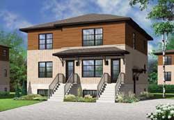 Modern Style Floor Plans Plan: 5-1114