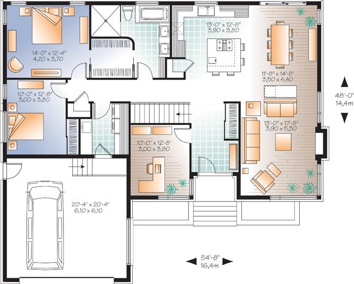 Main Floor Plan: 5-1126