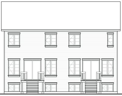 Rear Elevation Plan: 5-113