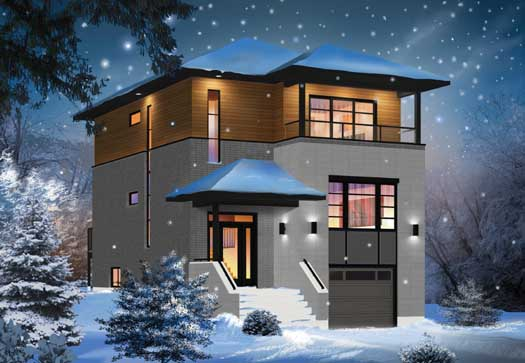Modern Style Home Design 5-1130
