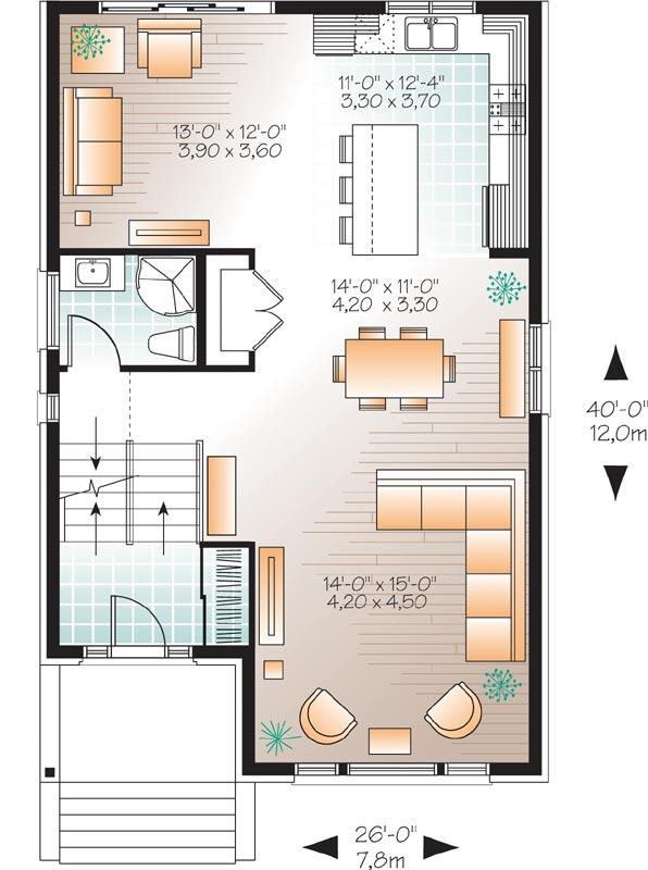 Main Floor Plan: 5-1130