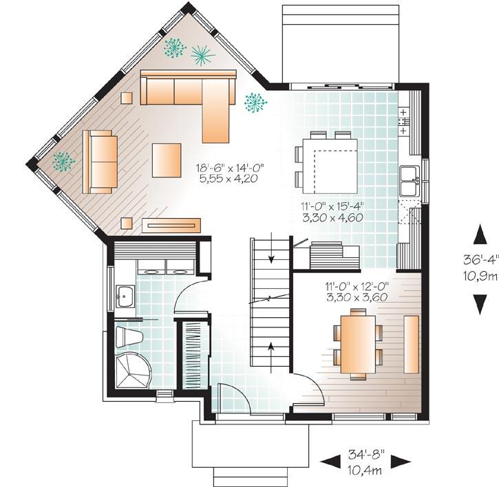 Main Floor Plan: 5-1134