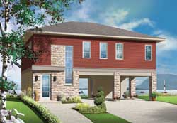 Traditional Style Home Design Plan: 5-1146