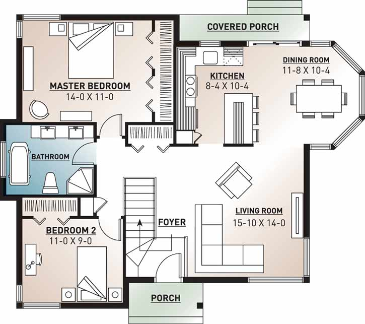 Main Floor Plan: 5-115