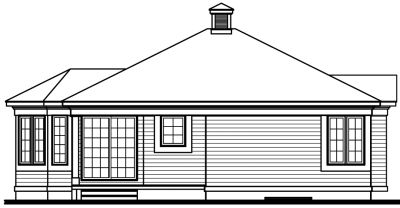 Rear Elevation Plan: 5-115