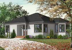 Traditional Style Floor Plans Plan: 5-115