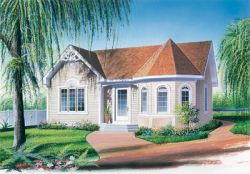 Victorian Style House Plans Plan: 5-116