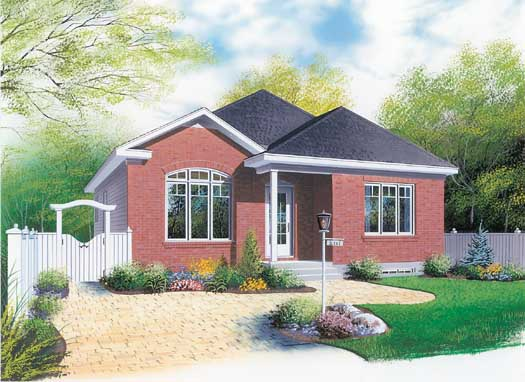 Traditional Style Floor Plans 5-117