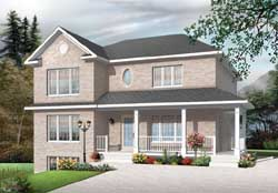 Country Style House Plans Plan: 5-1175