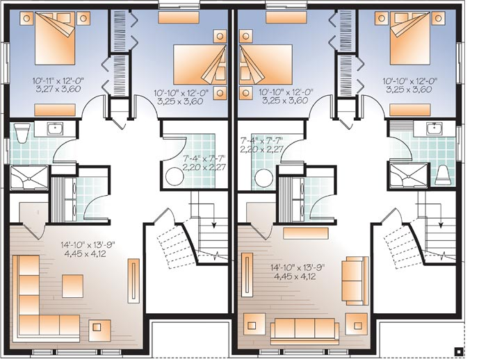 Lower Floor Plan: 5-1178