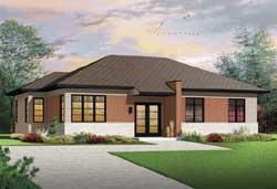 Modern Style Floor Plans Plan: 5-1183