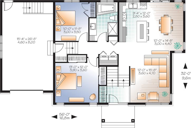 Main Floor Plan: 5-1184