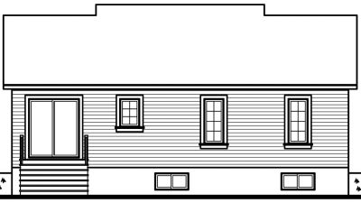 Rear Elevation Plan: 5-119