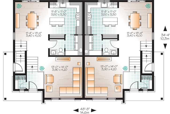 Main Floor Plan: 5-1219