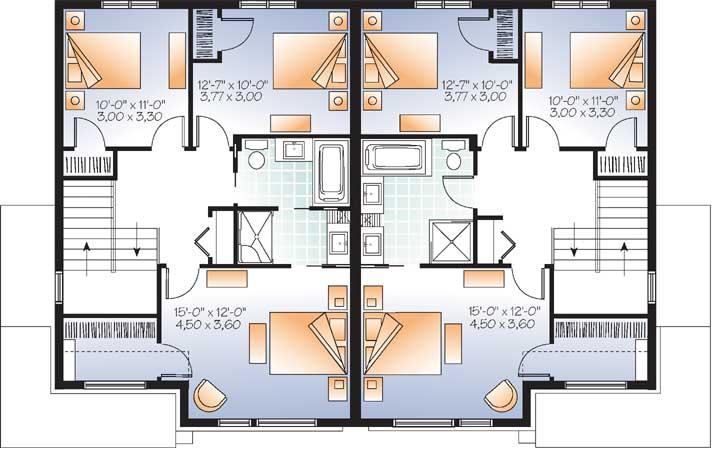 Upper/Second Floor Plan: 5-1219