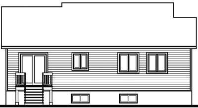 Rear Elevations Plan:5-122