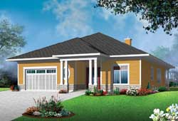 Traditional Style Floor Plans Plan: 5-1227
