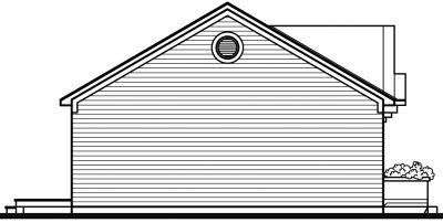 Rear Elevation Plan: 5-123