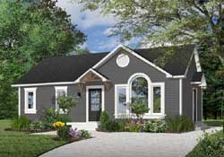 Traditional Style House Plans Plan: 5-123