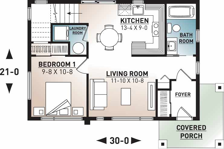 Main Floor Plan: 5-1240