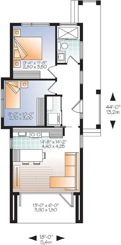 Main Floor Plan: 5-1241