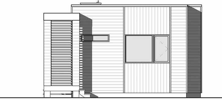 Rear Elevation Plan: 5-1241