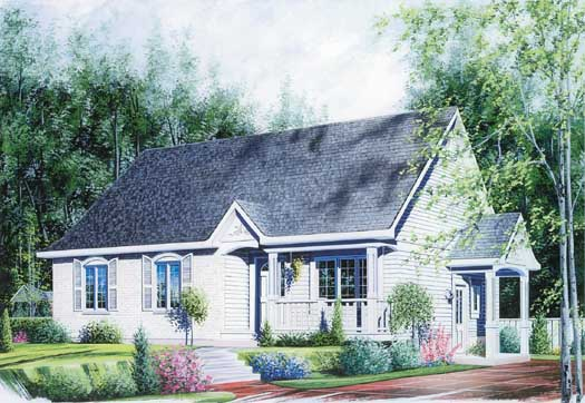 Traditional Style House Plans Plan: 5-125