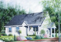 Traditional Style Floor Plans Plan: 5-125