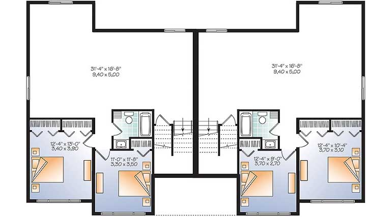 Lower Floor Plan: 5-1251