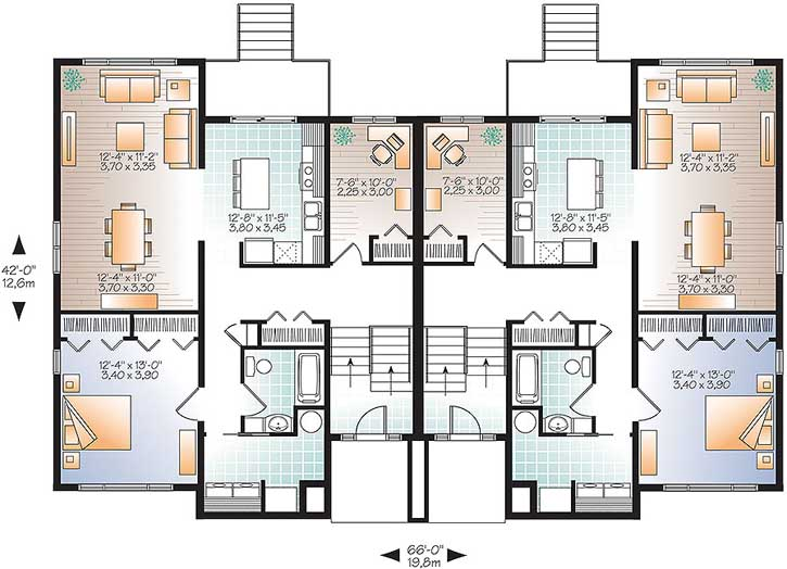 Main Floor Plan: 5-1251