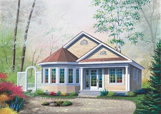 Traditional Style House Plans Plan: 5-127