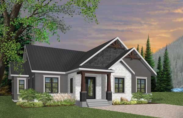 Craftsman Style House Plans Plan: 5-1273