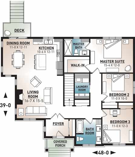 Main Floor Plan: 5-1273