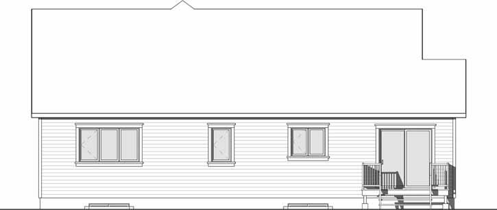 Rear Elevation Plan: 5-1273