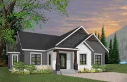 Craftsman Style Floor Plans Plan: 5-1273