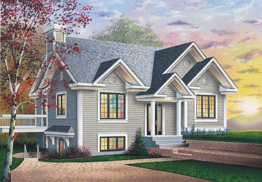 Traditional Style Floor Plans Plan: 5-128