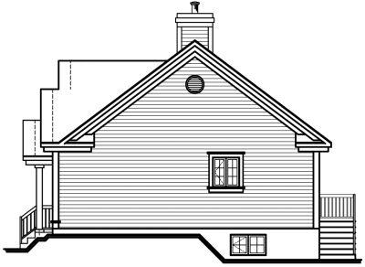 Rear Elevation Plan: 5-128