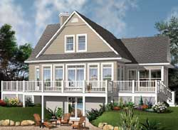 Country Style House Plans Plan: 5-1292