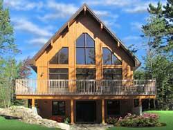 Contemporary Style Home Design Plan: 5-1294