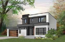 Modern Style Floor Plans Plan: 5-1312