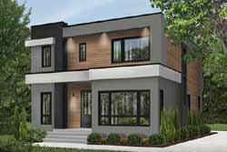Modern Style Floor Plans Plan: 5-1313